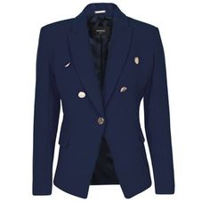 MANGO Buttons military blazer