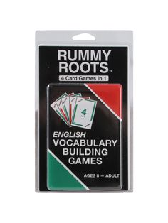 Rummy Roots Game - Make my own game Vocabulary Practice, Vocabulary Building, Home Learning, Fun Learning, Latin Root Words, Homeschool Books, Homeschooling, Dictionary Skills, Learn Greek