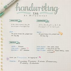 steudious: thank you @studynoblues for tagging me to do the handwriting tag! it was fun ^-^ tagging: @jessastudy, @studiedied, @100atar, @studentcandy, @scholarly, @pillowstudies and anyone else who would like to do this!