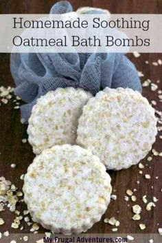 Oatmeal Bath Bombs | 12 DIY Bath Bombs | Bath Bombs Made Easy, see more at: https://diyprojects.com/diy-bath-bombs-bath-bombs-made-easy/