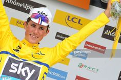 Peter Kennaugh of Team SKY takes 1st place during Stage One of the Criterium du Dauphine on June 07, 2015 in Ugine, France.#Dauphiné #rm_112