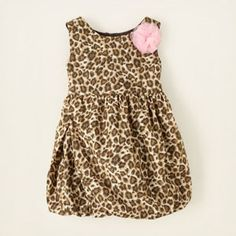 leopard bubble dress  $9.97