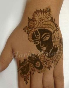 For this festive night, we have brought to you very creative Mehndi designs for Krishna Janmasthami which are sure to win your hearts. Mehndi Designs 2018, Mehndi Designs For Beginners, Modern Mehndi Designs, Mehndi Design Pictures, Mehndi Designs For Girls, Mehndi Designs For Fingers, Dulhan Mehndi Designs, Beautiful Henna Designs, Mehndi Designs For Hands
