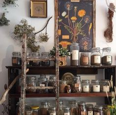 Apothecary Decor, Witch Room, Witch House, Witch Cottage, Aesthetic Room Decor, My New Room, Cheap Home Decor, Decoration, Home Remodeling
