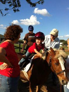 The Saddle Light Center for Therapeutic Horsemanship