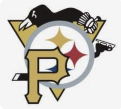 Pittsburgh Sports, University Of Pittsburgh, Pittsburgh Pirates, Pittsburgh Penguins, Pittsburgh Tattoo, Wvu Sports, Steelers Tattoos, Penguin Logo, Sports Decals