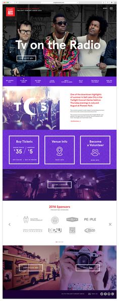 TCS Music Festival Website on Behance.. #trixmedia , No matter where you are, we can make it work. TRIXMEDIA offers branding services to help your business grow in a changing world. www.trixmedia.com.