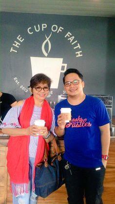 Smiles for Jesus @TheCupofFaith #Coffee #Shop #Philippines #TheCupOfFaith #christan #JesusFirstCoffeeSecond