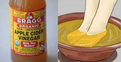 It is always good to dip your feet in warm water to relax after a hard day at work, but if you do it in apple cider vinegar, the results will leave you speechless! Rest your tired feet in a hot or cold bath of apple cider vinegar at the end of the day to...
