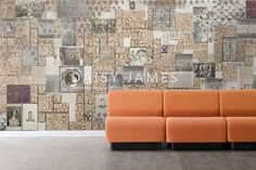 DAISY JAMES wallcover The Stamp