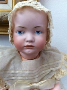 VERY RARE Bruno Schmidt Character Antique Baby Doll!!!