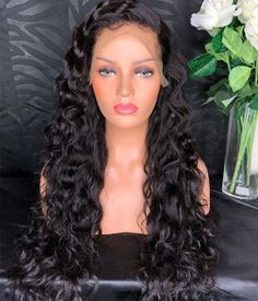Lace Front Human Hair Wigs For Black Women Curly Wig Brazilian Remy Bob Wig Full Frontal With Pre Plucked Baby Hair Slove Funmi Shrink-Proof Hair Extensions & Wigs