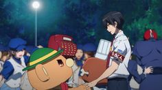 All Thanks to the Manager | Kanie | Amagi Brilliant Park | Anime | (gif)