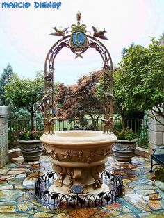 The Walt Disney World Picture of the Day: Cinderella Wishing Well at the Magic Kingdom [6 Pictures]