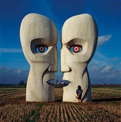 Storm Thorgerson. Pink Floyd, Division Bell.