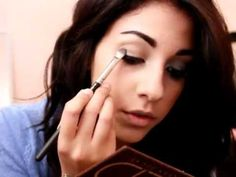 TUTORIAL: Smokey Eye ft. Urban Decay NAKED Palette... SO excited to get my naked palette this weekend at ulta :D