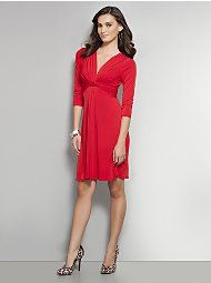 I love this dress, but I do not love the fact that I would have to stick a cami under it.