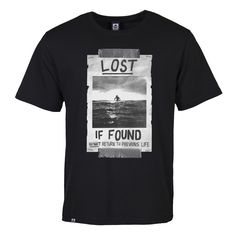 Lost Poster - T-shirt - Black main image