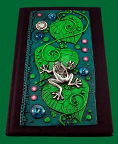 Frog Leaf Journal by MandarinMoon.deviantart.com on @DeviantArt