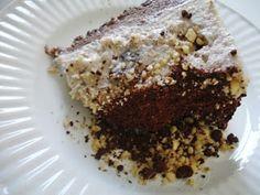 Pecan ice cream cake