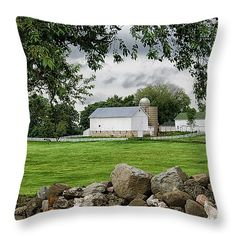 """Storms On the Way 14"""" x 14"""" Throw Pillow by Christi Kraft, $37.  Multiple sizes available."""