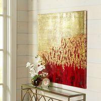 Unassuming Art - Red