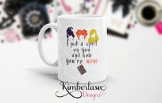 **This is a Kimberlasa Designs original.  This listing is for an 11 oz coffee…