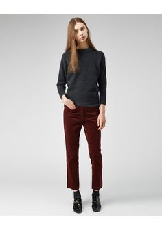 Etoile Isabel Marant / Gussie Cropped Pants | La Garconne - $270