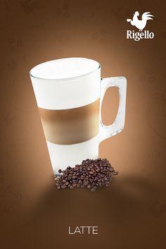 Classic Line: #Latte #Coffee by #Rigello