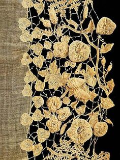 Irish crochet &: Кружева. Для вдохновения.