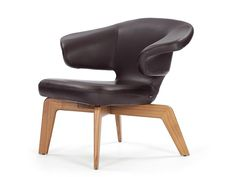 Classicon - Munich Lounge Chair - Sauerbruch Hutton - hout, staal, stof of leer - Duitsland - 2009 - Contemporary Armchair, Modern Armchair, Funky Chairs, Cool Chairs, Easy Chairs, Eames, Home Deco, Sofas, Modern Furniture