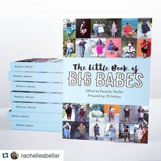"""Guy! Look at this!  I've already got my copy shipped to Germany so it's my Christmas present to myself as I AM IN THIS BOOK ASWELL  Get yourself a copy   #Repost @rachelleabellar with @repostapp.  """"The Little Book of Big Babes"""" is finally available for purchase!! This is a 200 page full color book featuring the fashion of over 150 fatties from around the world. Grab your copy here: http://ift.tt/1Ngetl1 by fresheima"""