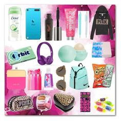 """Ultimate Guide Emergency Kit For Teen Girls"" by lexibrown-0903 on Polyvore"
