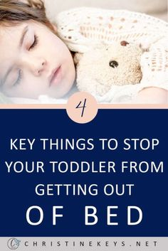 4 Key Things To Stop Your Toddler From Getting Out of Bed Toddler Milestones, Toddler Chores, Toddler Sleep, Kids Sleep, Baby Sleep, Toddler Twins, Child Sleep, Twin Toddlers, Parenting Toddlers