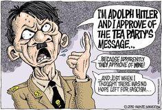 6 Times Teabaggers Made Ridiculous #Nazi #Holocaust Comparisons http://aattp.org/6-times-teabaggers-made-ridiculous-naziholocaust-comparisons-video/… #teaparty @AFPKansas @AFPhq pic.twitter.com/mJsaZALIpE