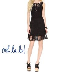 New Black Macrame Free People Dress Boho Chic New Black beautifully crafted Macrame Dress. Boho-chic. Completely lined with darted and tailored bodice. Pictures from freepeople.com. Awesome dress!!!!❤️💗❤️💗❤️💗 New with Tags! Free People Dresses