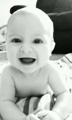 Sweet baby in black and white #ConvertToBlack