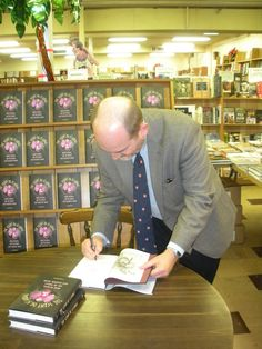 "Haslam's honcho Ray Hinst let me sign copies of ""The Scent of Scandal"" with a pen he said was once used by Norman Mailer to sign books at the store. (Yes, he asked for it back. Darn it.) (March 2012)"