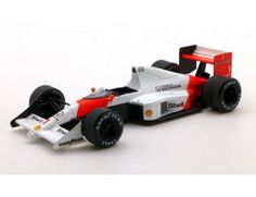 The TrueScale Minitatures 1/43 McLaren MP4/5 1989 Monaco GP 1st Place No.1 A.Senna is part of the TrueScale Miniatures 1/43 scale diecast model car range and displays some fantastic and intricate details.