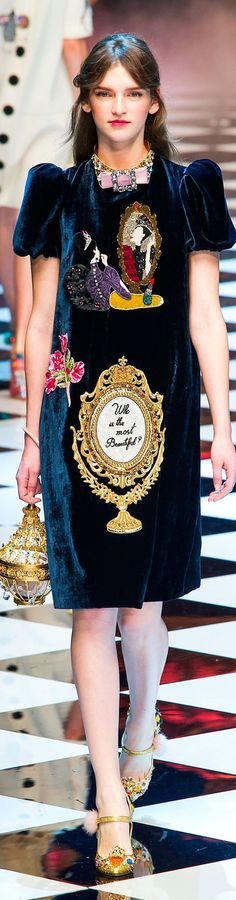 Dolce and Gabbana fall 2016 RTW