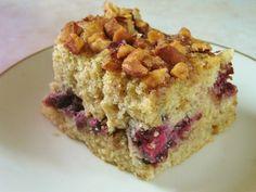 Blackberry-Almond Coffee Cake