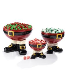 Another great find on #zulily! Santa Footed Bowl Set by Grasslands Road #zulilyfinds