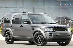 land rover discovery 4 grey - Google Search