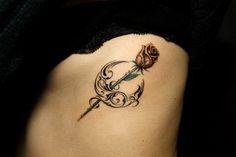月|薔薇のタトゥー | ギャラリー | Tifana Tattoo - 東京|TOKYO渋谷のタトゥースタジオ MOON TRIBAL and ROSE TATTOO