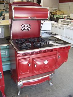 Elmira Vintage Appliances I Love This 6 Burner Stove What A Conversation Piece This