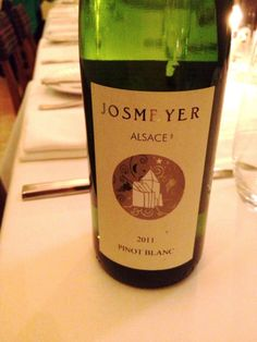 Josmeyer - most Pinot Blancs are really good, this one is GREAT. Elegant white florals, and another biodynamic one. $17