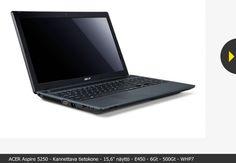 Acer Aspire 5250 läppäri 399 € Koneboxissa