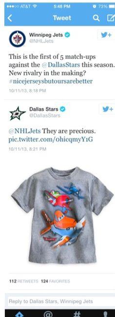 Oh, #Winnipeg. The #DStars twitter is so sassy.