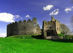 Medieval Castle Unearthed Beneath Prison Yard