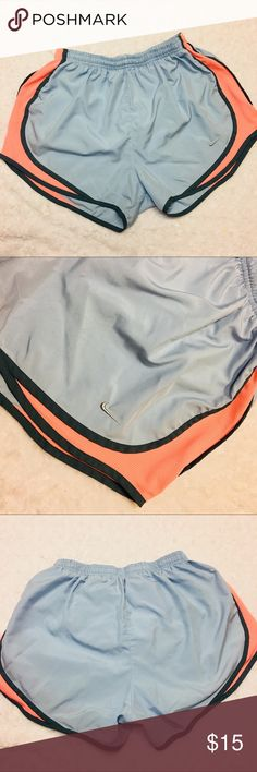 Nike dri-fit athletic shorts Nike dri-fit active shorts   Sides are coral colored mesh  Beautiful colors  Has underwear lining inside  Draw strings are inside as well   Bundle to save on shipping  Open to reasonable offers   Please ask any questions prior to purchasing Nike Other